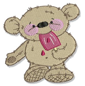 Free Polar Bear Machine Embroidery - Free Embroidery Patterns