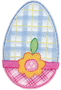 Sweet Eggs Applique 12