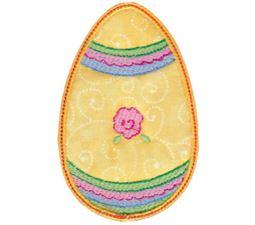 Sweet Eggs Applique 16