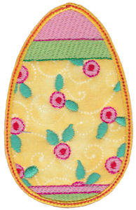 Sweet Eggs Applique 17