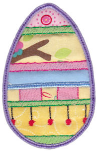 Sweet Eggs Applique 18
