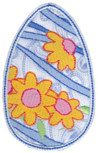 Sweet Eggs Applique 4