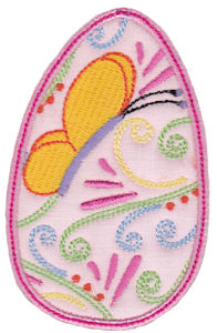 Sweet Eggs Applique 7