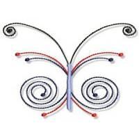 Swirly Butterflies