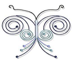 Swirly Butterflies 15