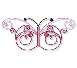 Swirly Butterflies 16