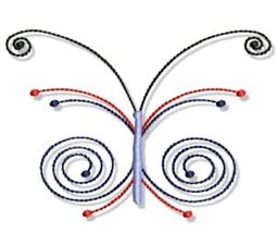 Swirly Butterflies 20