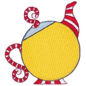 Embroidery Design Set - Teapot Whimsy 10