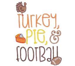 Turkey Pie Football