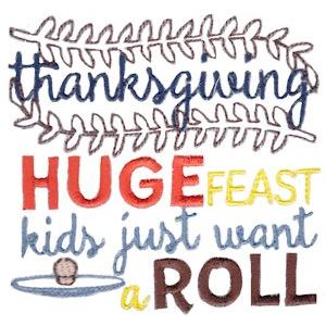 Embroidery Design Set - Thanksgiving Sentiments Too 8