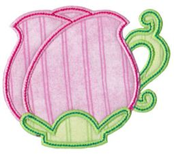 Time For Tea Applique 5