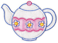 Time For Tea Applique