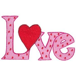 Embroidery Design Set - Too Cute Valentine 12