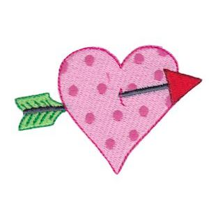 Embroidery Design Set - Too Cute Valentine 14