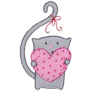 Embroidery Design Set - Too Cute Valentine 2