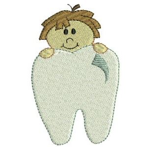 Embroidery Design Set - Tooth Fairy 3