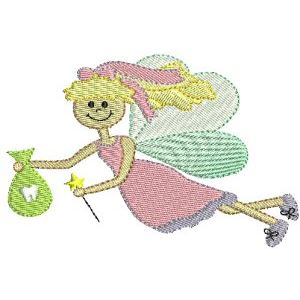 Embroidery Design Set - Tooth Fairy 4
