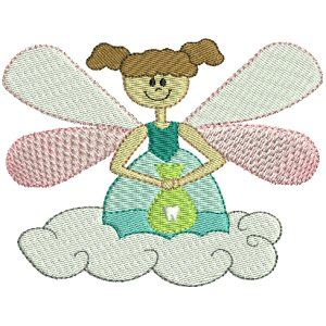 Embroidery Design Set - Tooth Fairy 5