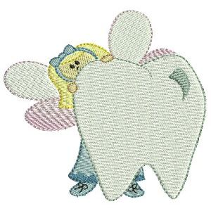Embroidery Design Set - Tooth Fairy 6