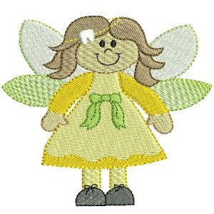 Embroidery Design Set - Tooth Fairy 7