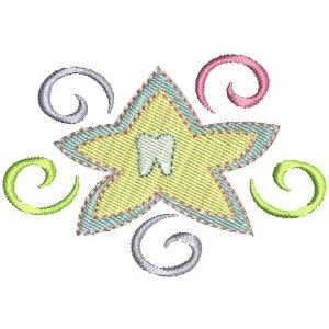 Embroidery Design Set - Tooth Fairy 8