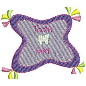 Embroidery Design Set - Tooth Fairy 9
