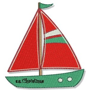 Embroidery Design Set - Tropical Christmas 10