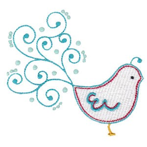 Embroidery Design Set - Tweet Thing 3