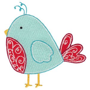 Embroidery Design Set - Tweet Thing 8