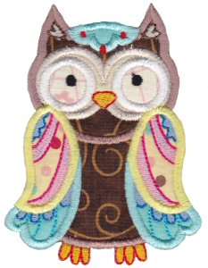 What A Hoot Applique 1
