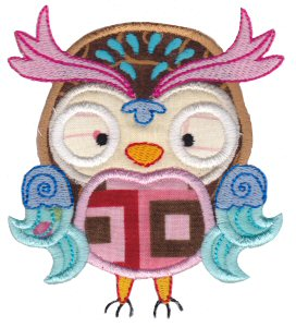 What A Hoot Applique 12