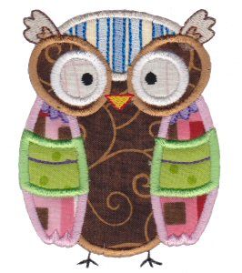 What A Hoot Applique 2