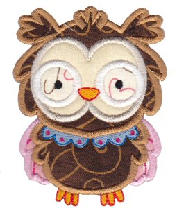 What A Hoot Applique 3
