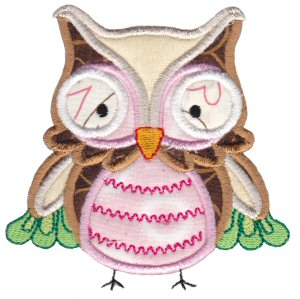 What A Hoot Applique 5