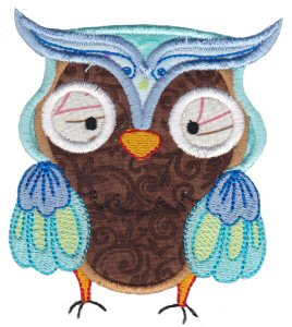 What A Hoot Applique 6