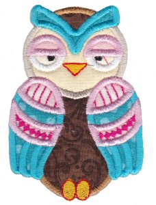 What A Hoot Applique 7