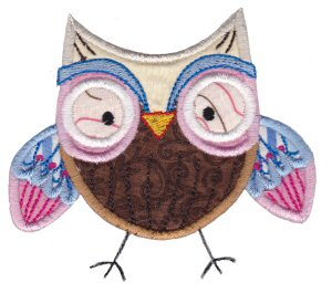 What A Hoot Applique 8
