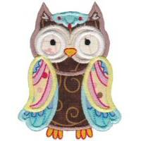 What A Hoot Applique