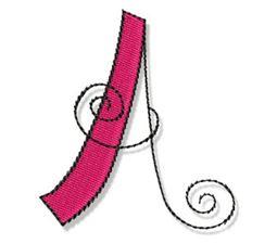 Whimsy Alphabet Capital A