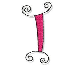 Whimsy Alphabet Capital I
