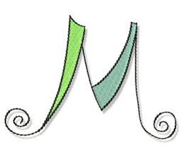 Whimsy Alphabet Capital M