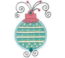 Whimsy Ornaments Applique 14