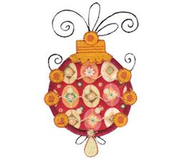 Whimsy Ornaments Applique 20