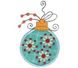 Whimsy Ornaments Applique 21
