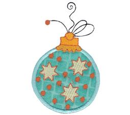 Whimsy Ornaments Applique 4