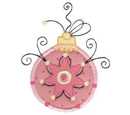 Whimsy Ornaments Applique 7