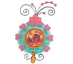 Whimsy Ornaments Applique 9