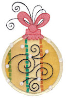 Whimsy Ornaments Applique