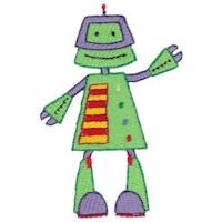 Embroidery Design Set - Zotbot