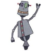 Embroidery Design Set - Zotbot Too